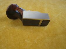 "flat bottom brass wrap blackwood planes 2 3/4"" woodworking tool #8682"