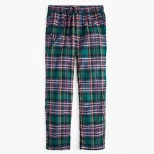 J.Crew Men/'s Flannel Tartan Plaid Pajama Pant NWT size large $59.50 NWT