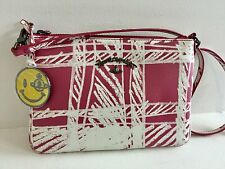 VIVIENNE WESTWOOD ANGLOMANIA Printed textured-leather shoulder bag