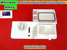 Whirlpool, Omega Dishwasher Spare Parts Detergent Soap Dispenser (DA29) Used