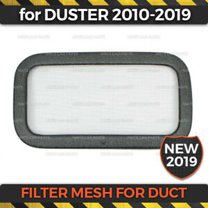 Filter Mesh Duct for Renault Duster 2010-2019 ABS plastic