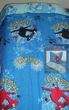 URBAN SPIDERS SKATEBOARDING 5PC FULL SIZE COMFORTER SHEETS BEDDING SET NEW