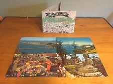 Vintage California Los Angeles, San Francisco Souvenir Book and 4 Postcards