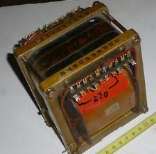 Trafo Netztrafo Schnittbandkern 220 V --> 65 Volt +64 Volt