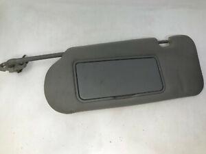 2005-2007 Kia Sorento Driver Sun Visor Sunvisor Illuminated Gray OEM N40502