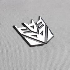 1 Decoration Decepticon Transformer Emblem Badge Graphic Decal Car Sticker 3D