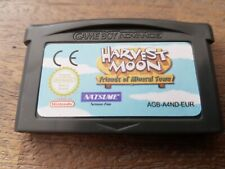 Nintendo Gameboy Advance Gba harvest moon friends of mineral town
