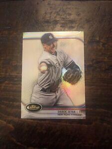 2012 Topps Finest #5 Derek Jeter New York Yankees NM-MT