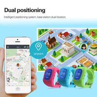 Anti-Lost Smart Watch LBS Tracker SOS Security Alarm Monitor For Kid Child Pet