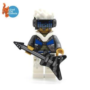Genuine Lego Vidiyo Bass Bot Minifigure (vid024) + Guitar Accessory from  43112