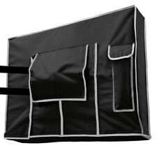 """Outdoor TV Cover Black Pantel 32/"""" TV Dust Cover"""