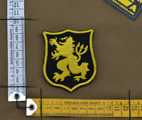 "Ricamata / Embroidered Patch Devgru ""Lion Small"" Black with VELCRO® brand hook"