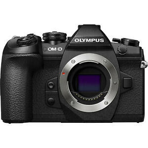 Olympus OM-D E-M1 Mark II Gehäuse / Body C-Ware unter 10000 Auslösungen schwarz