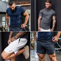 Summer Men Gym Sports Jogging Shorts Pants Trousers Casual beach Cool Sweatpants