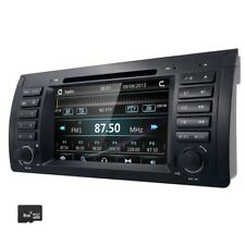 "7""Car Stereo DVD GPS Sat Nav DAB BMW 5er E39 X5 E53 M5 3G RDS USB IPOD BT 7161AM"