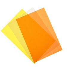 50 Sheets Colored Translucent  Papers for DIY Craft Drawing Cardmaking