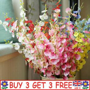 Artificial Silk Fake Flowers Corn Poppy Wedding Party Home Bouquet Garden Decor
