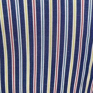 Turnbull & Asser Mens dress shirt size 15.5 39cm Made in England striped blue