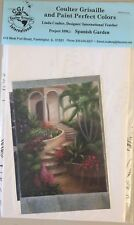 PP36 SPANISH GARDEN by Linda CoulterDecorative Painting Pattern Packet
