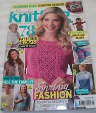 Simply Knitting Magazine ~ Issue 145 ~ includes Alan Dart's Lumberjack Beaver