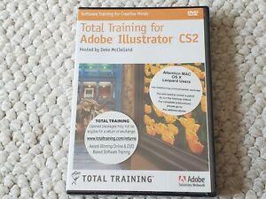 Total Training for Adobe Illustrator CS2 on Win/Mac DVD - BRAND NEW & SEALED