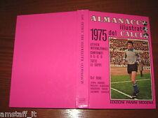 ALMANACCO ILLUSTRATO DEL CALCIO PANINI 1975=BUONISSIMO=