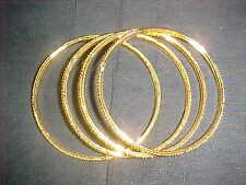 NEW GOLD EXOTIC Bangle FOR Sari SKIRT Salwar OUTFIT BELLY BALLROOM DANCE Jewelry