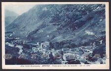 BERGAMO BRANZI 10 VAL BREMBANA Cartolina viaggiata 1940