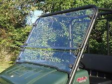 Kawasaki Mule 4010/4010 TRANS 2 Pc Vented Windshield-BEST-FREE SHIPPING