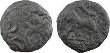 Carnutes, bronze au lion KONAT, 80-40 av J-C, TRES RARE - 33