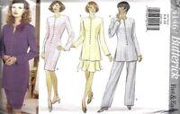 UNCUT Butterick Sewing Pattern Dress Tunic Skirt Pants