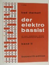 guitar FRED THERHOFF der elektro bassist , band 2