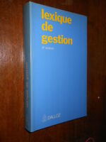 Lexique de gestion Dalloz 1991 L1