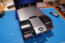 Full plate with v8 logo tamiya frame 4x2 1/14 truck SCALE-PARTS INOX v6 cover