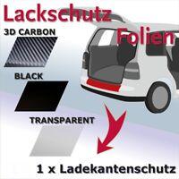 Für BMW X6 E71 2008-2014  Ladekantenschutz Lackschutzfolie carbon Schutz 10037