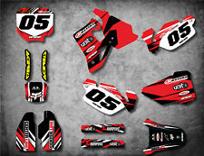 HONDA CR 80 1996 / 2002 Full  Custom Graphic Kit DIGGER STYLE decals stickers