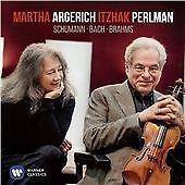 Bach & Schumann, Martha Argerich and Itzhak Perlm CD   0190295937898   New