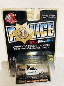 Racing Champions Police USA Salt Lake City UT '86 Chevy El Camino Issue#97
