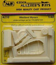 CMK 1/48 Westland Wyvern Undercarriage Set for Trumpeter # 4210