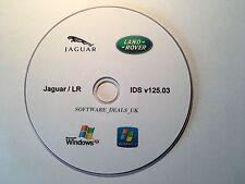 Jaguar / Land Rover JLR IDS 125.03. Easy to use original IDS software, NOT SDD.