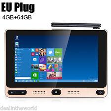 5'' GOLE1 Mini PC Intel Quad-core Windows 10/Android 5.1 4K TV Box 4GB+64GB Wifi