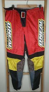 O'Neal Racing Impact Motocross Men's Pants Dirtbike Clothing Size 36