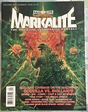 1990 Kaiju Scope MARKALITE #1 Magazine Godzilla - Ultraman - Kamen Rider