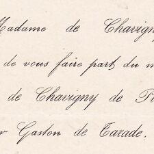 Suzanne Desmé De Chavigny De Planchoury Pilorget 1872