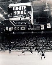 Winnipeg Jets Arena  (Interior - B&W 8x10 Photo)