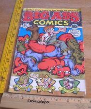 Big Ass Comics #2 Robert Crumb Rip off Press 1971 underground comic VG 1st print