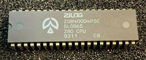 2pcs x Zilog  Z0840004PSC    Z80 CPU