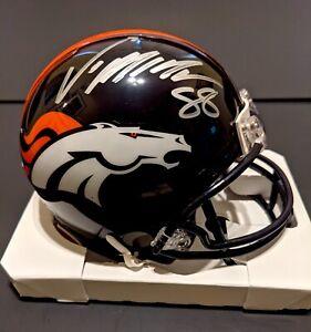 Von Miller Denver Broncos Autographed Signed Mini Helmet
