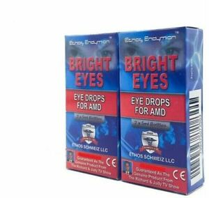 Ethos Eye Drops for Age-Related Macular Degeneration 2 x Boxes 20ml