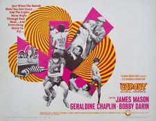 COP-OUT half sheet movie poster 22x28 JAMES MASON GERALDINE CHAPLIN BOBBY DARIN